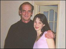 """Manon Jones & Dad"""